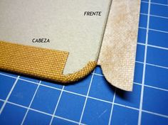 How to wrap bookcloth around round corners