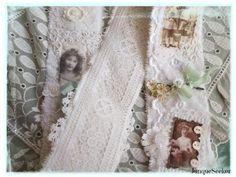 The Junque Seeker: Vintage Darlings Snippet Roll Swap