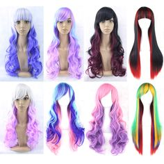 Now available @Hawtinhair.com 11 Colors Hair Wo...  Check it out   http://hawtinhair.com/products/11-colors-hair-women-hair-ombre-wig-cosplay-wigs-black-white-red-synthetic-hair-wigs-peruca-cosplay?utm_campaign=social_autopilot&utm_source=pin&utm_medium=pin