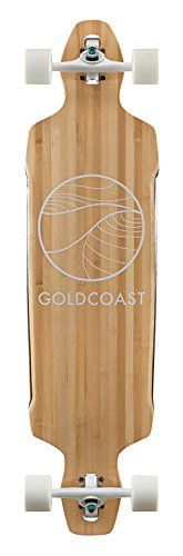 GOLDCOAST Classic Bamboo Drop Through Longboard Skateboard Complete * Check out this great product. This is an Amazon Affiliate links.