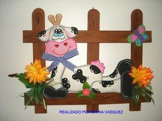 Vaquitas Para La Cocina En Foami   Graffiti Graffiti   cows ...