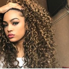 New Women Afro Long Kinky Curly Hair Wavy Wigs Lace Front Wig Party Cosplay , Long Curly Hair, Big Hair, Wavy Hair, Frizzy Hair, Short Hair, Little Girl Curly Hair, Curly Girl, Natural Hair Styles, Long Hair Styles