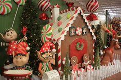 Christmas House at West End Nursery San Rafael