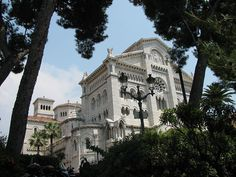 """""""Monaco Cathedral"""".... Monaco is the second smallest, and the most densely populated country in the world has a land border of only 4.4 km (2.7 mi), a coastline of 4.1 km (2.5 mi), and a width that varies between 1.7 km (1.1 mi), and 349 metres (382 yards). Monaco's most populous Quartier is Monte Carlo, and the most populous Ward is Larvotto/Bas File:""""Monaco Cathedral"""".JPG"""
