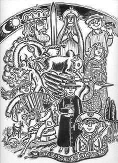 Capa da Revista Ponto - Homenagem a Ariano Sussuana.