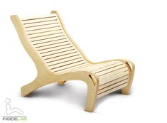 Plywood chair (and sun lounger)