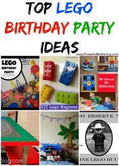Top Lego Birthday Party Ideas