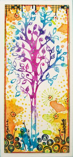 Azoline 2017-Mon arbre-Carabelle Studio stamps