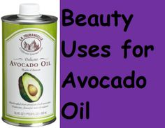 Did you know that there were so many uses for Avocado oil? Check out all of the beauty uses for this healthful food! it's great for your skin!
