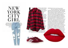 """Untitled #2"" by munira-968 ❤ liked on Polyvore featuring Madewell, Topshop and adidas"