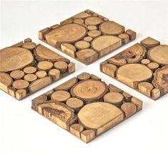 Wood Tree Slice Modern Wall Art Wooden Rounds Wood Slice Modern Art by ElizaLenoreDesigns on Etsy https://www.etsy.com/listing/191886670/wood-tree-slice-modern-wall-art-wooden