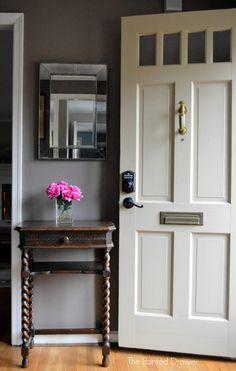 Read information on lever door knobs Schlage, Smart Door Locks, Diy Home Decor, Front Door, Front Entry Doors, Schlage Locks, Keyless Locks, Doors, Schlage Door Handles