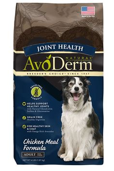 AvoDerm Joint Health Grain Free Chicken Meal Dry Dog Food -- See this awesome image  : Dog Food