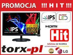 LG 22 Super LED IPS 22EA53VQ HDMI DVI wysyłka 24h