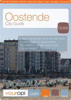 Gratis Ready to go City Guide Oostende van Youropi.com. Ontdek de beste restaurants, leukste winkels, leuke activiteiten en evenementen met deze gratis stadsgids!