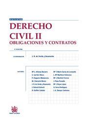 Derecho civil. II, (Obligaciones y contratos) / Atienza Navarro, Mª L., ... et al.     3ª ed.     Tirant lo Blanch, 2015