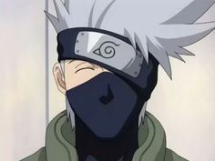 Kakashi from Naruto... damn why can't he be real?! Yummy! INTP (MBTI)