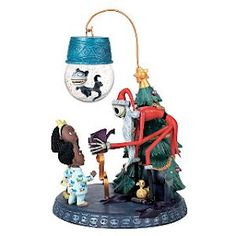 Disney Snowglobes Collectors Guide: Nightmare Before Christmas Ornament Snowglobe