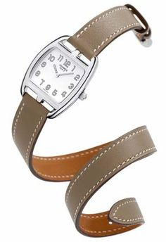hermes leather wrap watch price