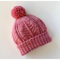 Ravelry: Seton Portage Hat pattern by Monika Anna Baby Hat Knitting Pattern, Baby Hats Knitting, Arm Knitting, Knitted Hats, Christmas Knitting Patterns, Knit Patterns, Doily Patterns, Knit Crochet, Crochet Hats