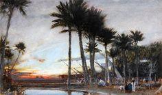 The Land Of Egyp de Albert Goodwin (1845-1932, United Kingdom)