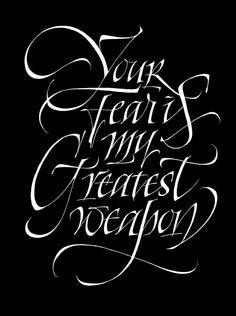Calligraphy & lettering by Pietro Piscitelli, via Behance
