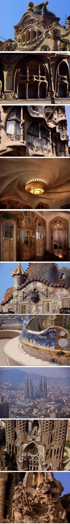 Antoino Gaudi documentary #organicarchitecture