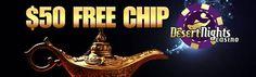 Desert Nights Online Casino – $50 Free Chip No Deposit Casino Bonus March 2016