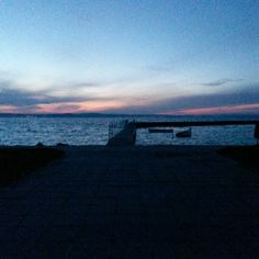 Este a Balatonnál