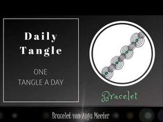 Zen Doodle, Zentangle Patterns, Peace Of Mind, Tangled, The Creator, Commercial, Draw, Make It Yourself, Bracelet