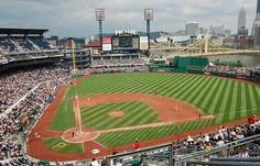 See a game at every MLB park. Starting with a visit back to my favorite, PNC Park in Pittsburgh PA