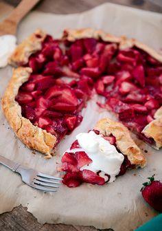 Fresh Strawberry Galette