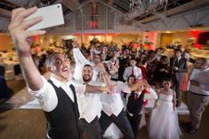 wedding selfie taken by perfect wedding photography