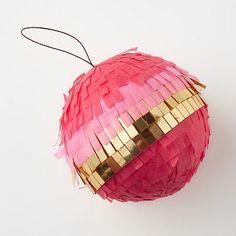 west elm / confetti system ornaments