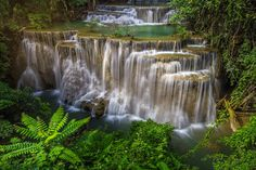 The Huai Mae Khamin Waterfall by KitchaKron sonnoy on 500px
