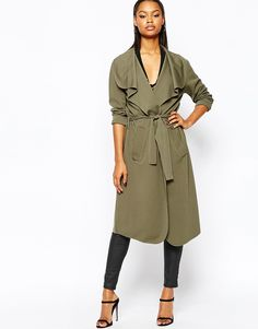 a Waterfall Light Weight Jacket (in Olive Green)  $45
