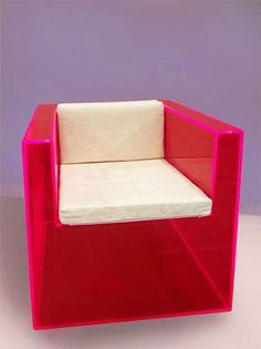 Acrylic Armchair. Design by Raphael