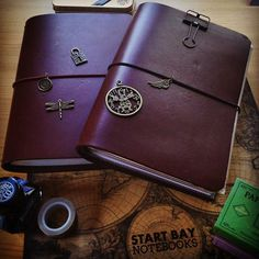 That's charming! Start Bay Notebooks now sell cord charms 😀 #travelersnotebook #traveljournal #leathernotebook #leatherjournal #journal #planner #artjournal #bulletjournal #notebook #stationery #startbaynotebooks