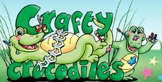 Crafty Crocodiles great for all your craft ideas