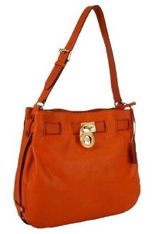 Michael Kors Hamilton Large Leather Shoulder « Clothing Impulse