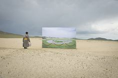 Photographer Calls Attention to the Desertification of the Mongolian Countryside