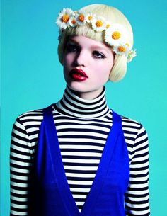 Daphne Groeneveld by Mario Sorrenti for Vogue Paris February 2011