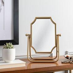 Gold Table, A Table, Gold Framed Mirror, Wall Mirrors, Cheval Mirror, Green Bedding, Antique Farmhouse, Burke Decor, Home Decor Outlet