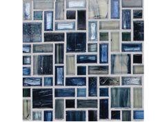 National Pool Tile Cosmopolitan Mosaic Glass Pool Tile | COS-MILAN