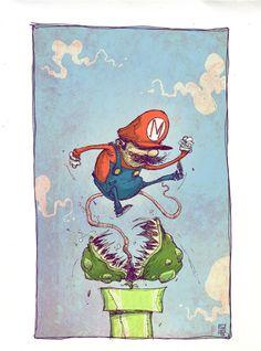 Super Mario Bro by *skottieyoung