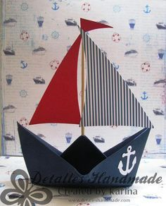 Ideas for baby boy shower nautical theme decoration Summer Crafts, Diy And Crafts, Crafts For Kids, Paper Crafts, Baby Shower Marinero, Deco Pirate, Sailor Theme, Nautical Party, Nautical Style