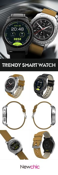 [Newchic Online Shopping] 58% OFF Trendy Smart Watch