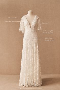 Cream Wedding Dresses, Garden Wedding Dresses, Boho Wedding Dress, Wedding Gowns, Mrs Hudson, Bohemian Bride, Bohemian Weddings, Bridal Outfits, Wedding Bells