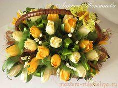 Мастер-класс по свит-дизайну: Махровый тюльпан