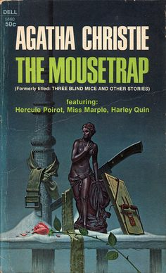 The Mousetrap (1969) by Book Covers: Vintage Paperbacks, Mars Sci-Fi, via Flickr